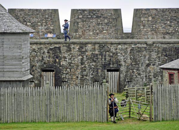 Wachdienst in Louisbourg