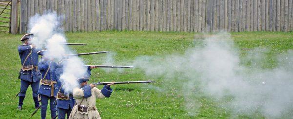 Feuer frei in Louisbourg