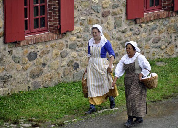 Louisbourger Einwohner