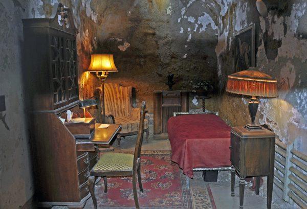 Das Eastern State Penitentiary in Philadelphia (die Zelle von Al Capone)