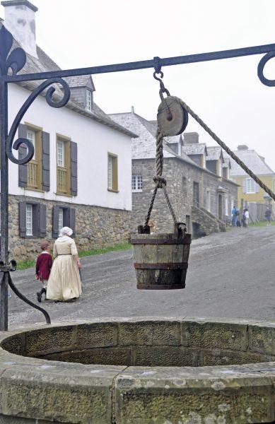Gegen den Durst der Louisbourger Einwohner