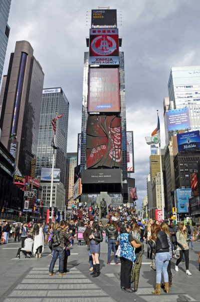 Der Times Square in New York City