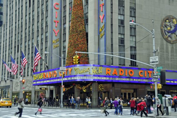 Die Radio City Music Hall in New York