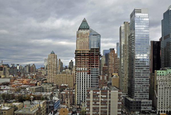 Blick von meinem Interconti Hotel in New York