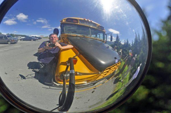 Zinni und 'sein' Schulbus