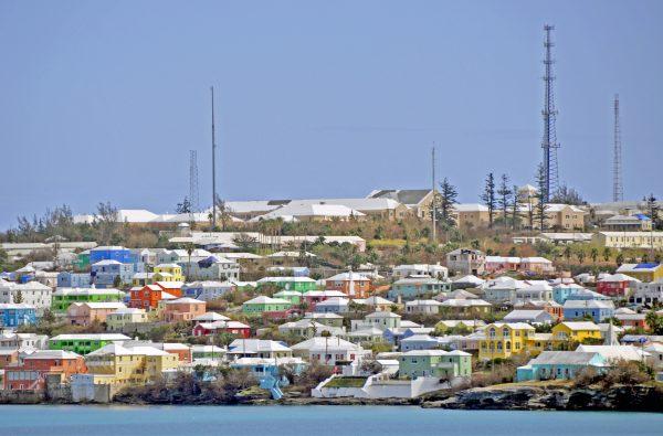 Mein erster Blick auf Bermuda