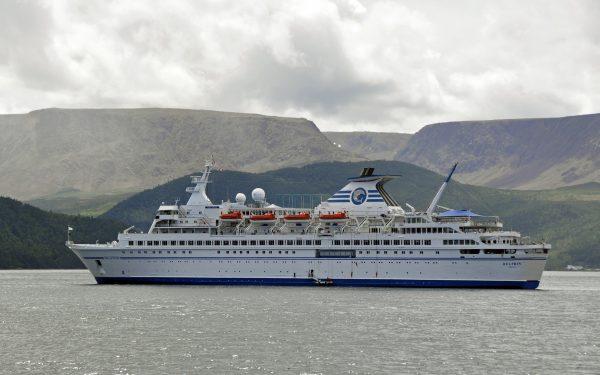 Die MS Delphin in der Bonne Bay