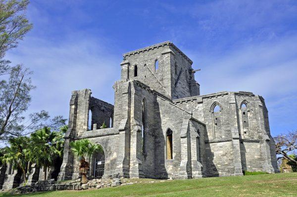 Unfinished Church, Saint George's, Bermuda