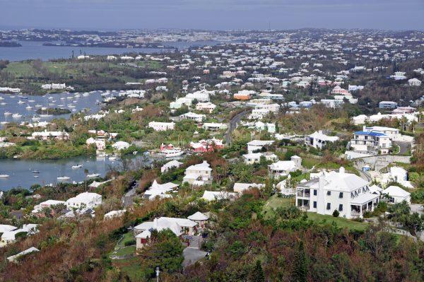 Blick vom Gibb's Hill Lighthouse, Bermuda
