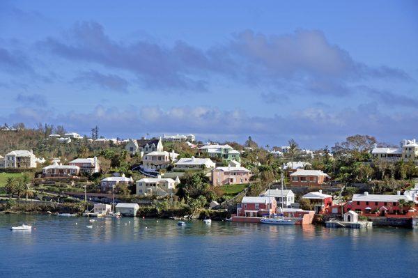 Blick auf die Bermuda Inseln