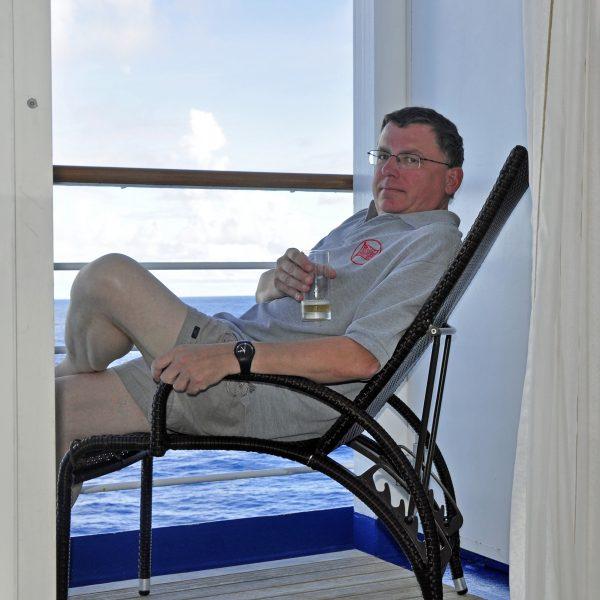 Zinni mit der MS Silver Whisper durch das Bermudadreieck