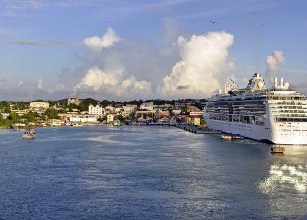 Ankunft in Saint John's / Antigua