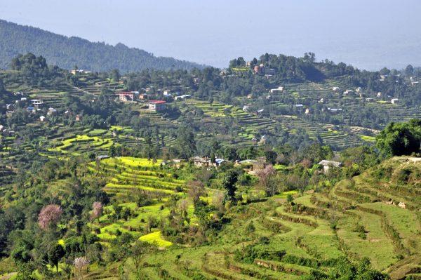 Im Kathmandu Valley nahe Nagarkot