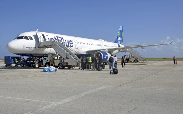 Mit JetBlue von Barbados nach New York