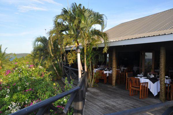 Das Restaurant des Wananavu Beach Resorts