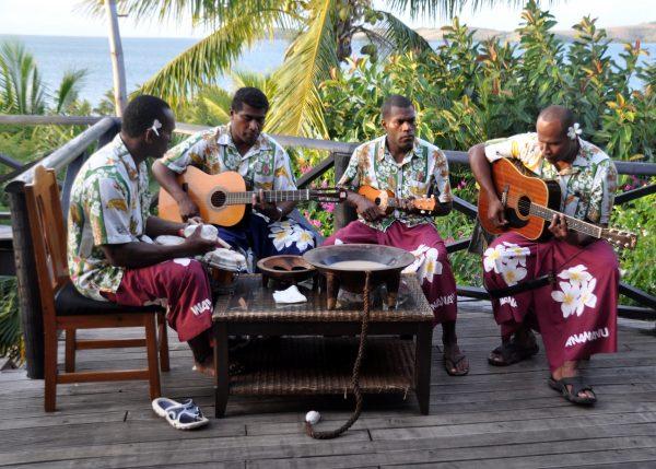 Die Boys vom Wananavu Beach Resort