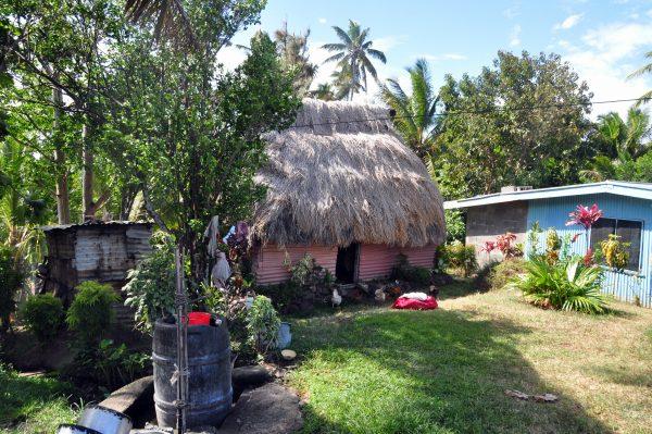 Eine einheimische Bure