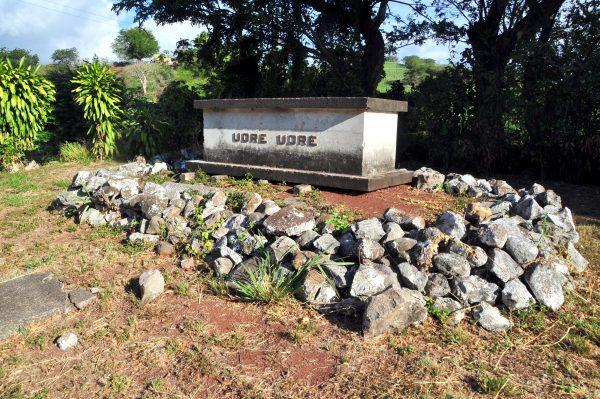 Das Grab des letzten Kannibalen in Fiji