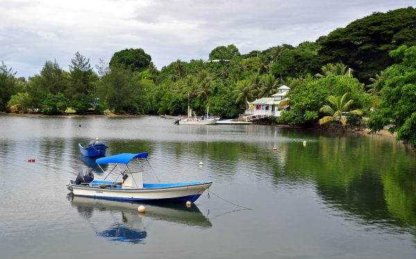 Colonia, die Hauptstadt von Yap