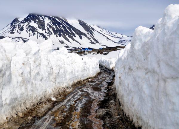 Auf dem Weg zum Hotel in Kulusuk im Osten von Grönland