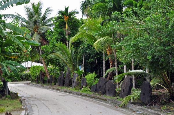Bezahlen mit Steinen in Yap