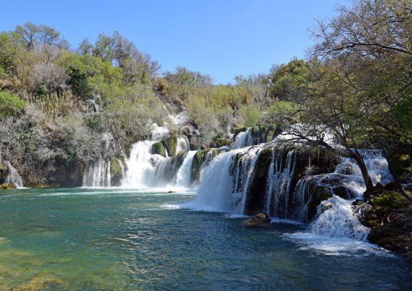 Die Krka Wasserfälle