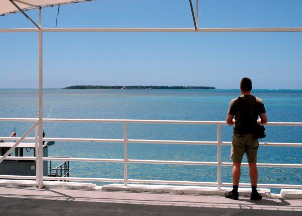 Blick auf Cocus Island