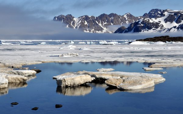 Eisberge bei Kulusuk in Grönland