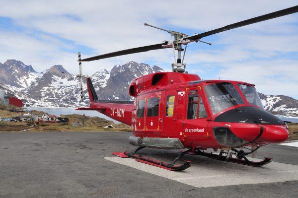 Ankunft in Tasiilaq mit Air Greenland