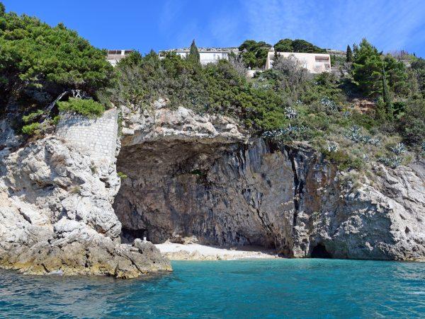 Die Küste von Dubrovnik