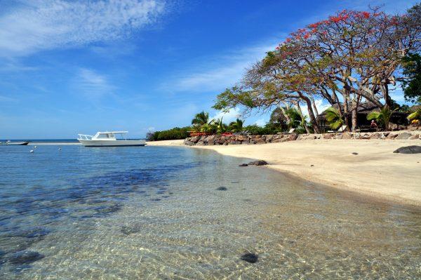 Beach vom Volivoli Beach Resort