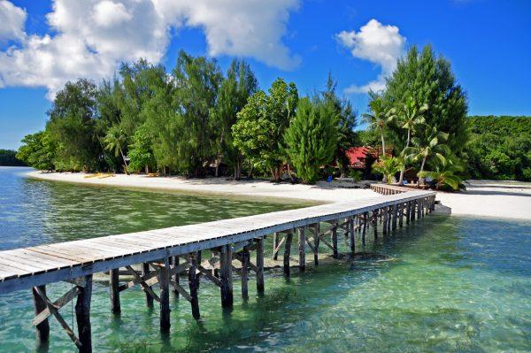 Carp Island, Palau