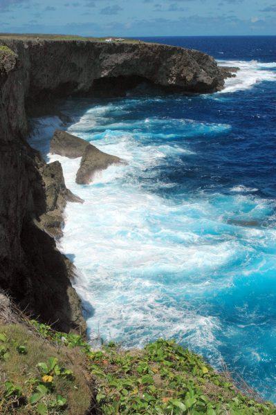 Das Bonzai Cliff in Saipan