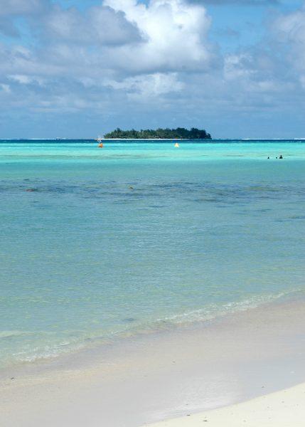 Blick auf Managaha Island in Saipan