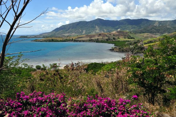 Die Bucht von dem Wananavu Beach Resort