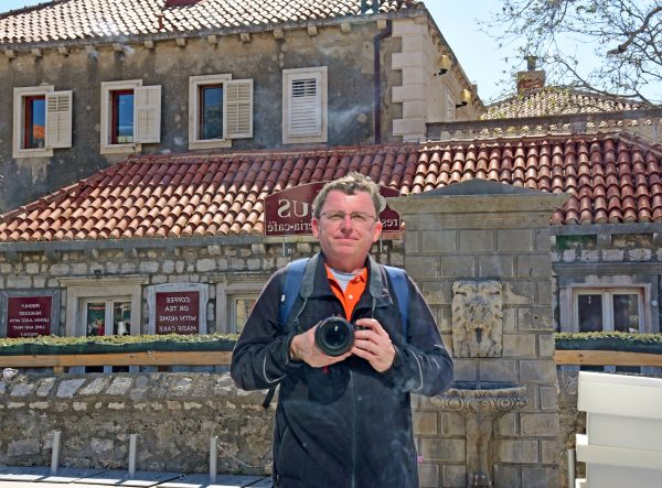 Der gespiegelte Zinni in Dubrovnik