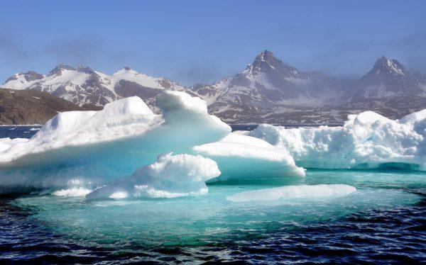 Eisberg-Watching im Osten von Grönland