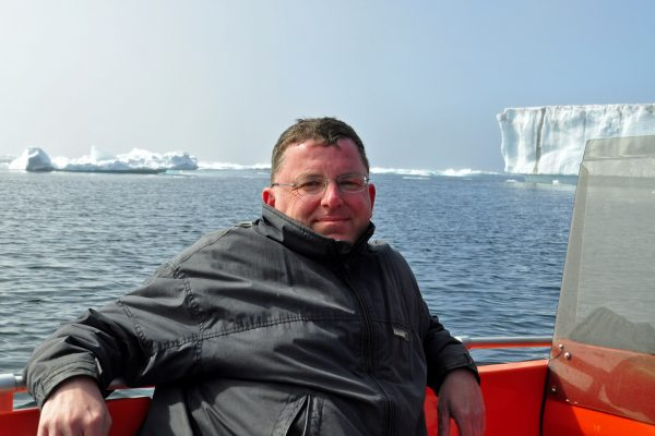 Zinni auf Eisberg-Watching