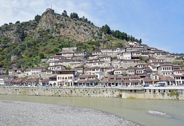 Der Stadtteil Mangalem von Durrës