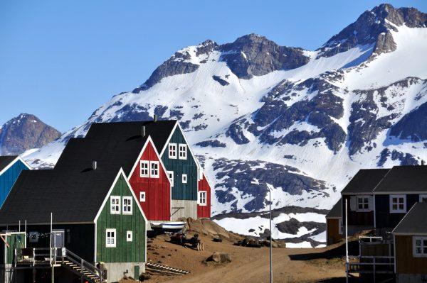 In Tasiilaq im Osten von Grönland