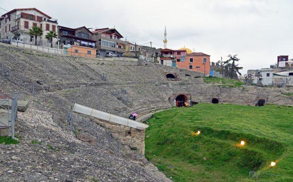 Das Amphib-Theater von Durrës