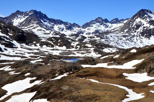 Nahe Tasiilaq im Osten von Grönland