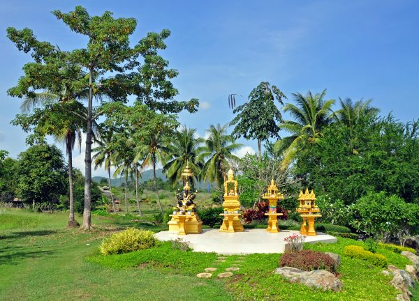 Die Geisterhäuser des Lilawalai Resort, Khao Yai National Park
