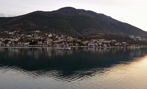 Morgenstimmung kurz vor Kotor