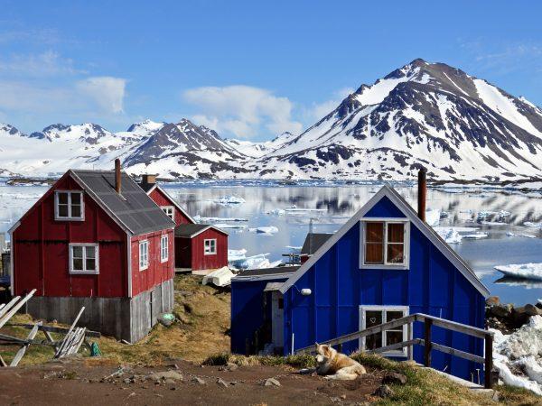 In Kulusuk auf Grönland