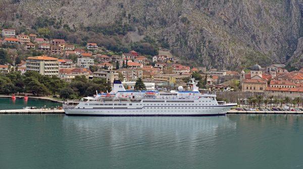 Die MS Berlin in Kotor