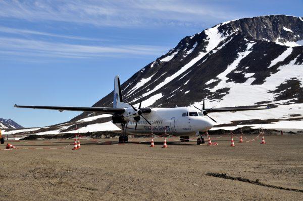 Kurz vor dem Abflug nach Island