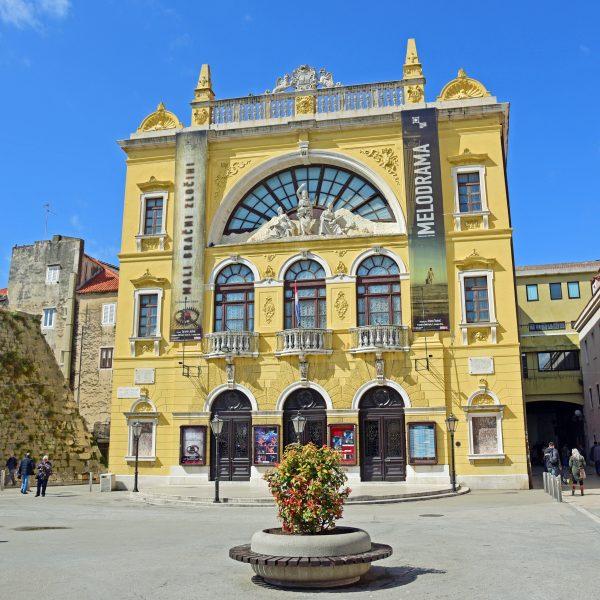 Das Kroatische Nationaltheater in Split