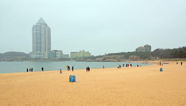 Die Beach Walk Street in Qingdao