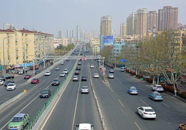 Blick auf Qingdao